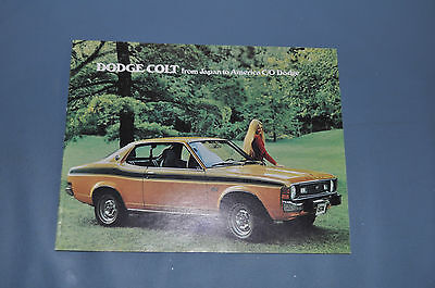 1974 Dodge Colt Sales Brochure 2 4 Door Coupe Hardtop Wagon