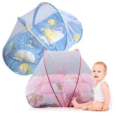 Cute Bed Net Instant Crib Portable Foldable Baby Mosquito Tent Travel Infant,New