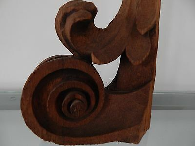 Antique Reclaimed Wood Corbel Architectural Salvage