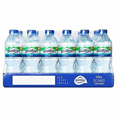 Buxton Natural Mineral Water Bottle Plastic 500ml Still Pack of 24