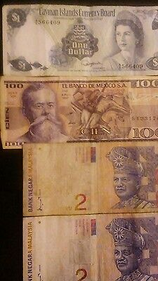 foreign paper money lot