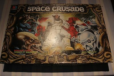Games Workshop Space Crusade Boxed Game 1990s MB Games Great Condition WH40K OOP