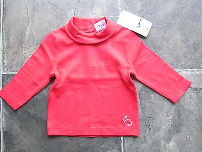 BNWT Baby Girl's Red Cotton Knit Skivvy Size 00