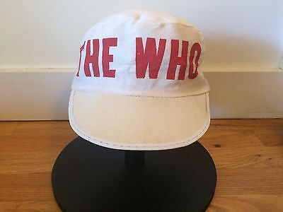 Vintage The Who pillbox painter 1982 concert tour hat | Size XL | 73/8 or 71/2