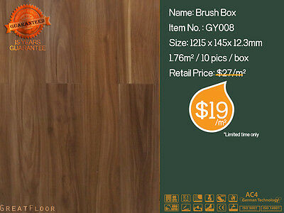 12mm Ac4 Premium Quality Laminate Flooring/ Floating/ Bamboo Floor/ Timber/GY008