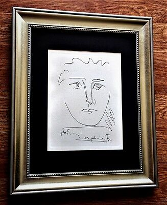Pablo Picasso *Original Signed Etching (1950's) With Certificate of Authenticity