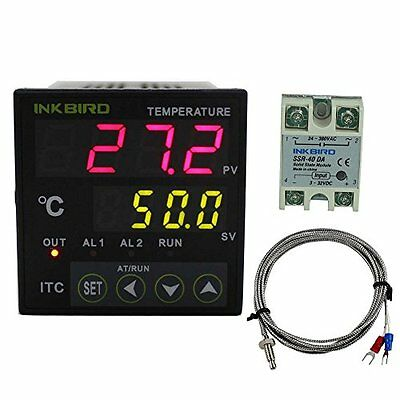 Temperature Controllers Inkbird PID Temperature Controller with Omron Relay DIN