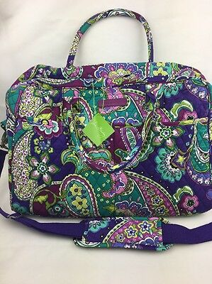Vera Bradley HEATHER WEEKENDER Travel BAG NWT Ships Free