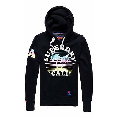 Sweat Superdry Calif Sunset Hood femme eclipse navy