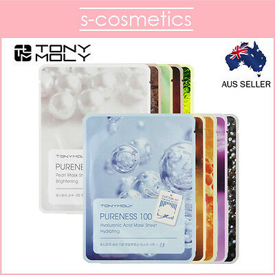 [TONYMOLY] Pureness 100 Mask Sheet (1, 3 or 5 sheets) Choose Your Own Tony Moly