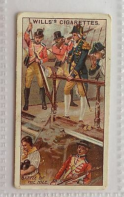 Nelson Battle The Nile Wills Cigarettes 1912 Historic Events Trading Card (B6)