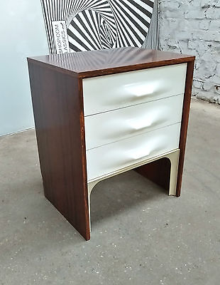 1960s SPACE AGE RAYMOND LOEWY DF2000 BAHUT SIDEBOARD ENFILADE PALISSANDER WHITE