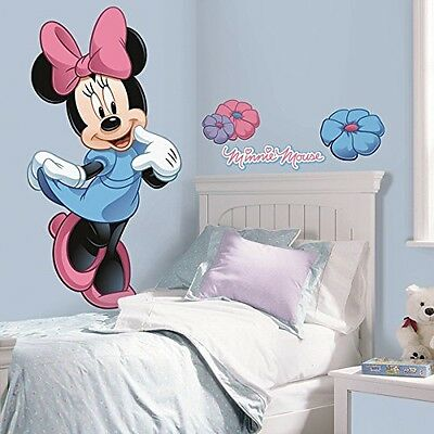 RoomMates Roommates Rmk1509Gm Minnie Mouse Peel And Stick Giant Wall Decal
