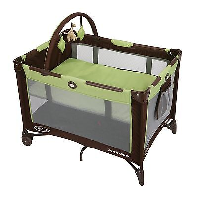 Graco Pack n Play Playard Playpen Baby Crib Bassinet Folding and Foldable Travel