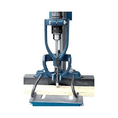 Wood Machine Mortising Jig Attachment Drill Press 4 Chisels Drilling Convert New