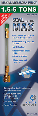 Maximum Seal Direct Inject XL4 A/C Sealant Easy Use and Fast Seal