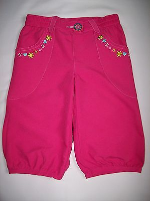 Bnwot Girls Chad Valley Pink Cropped Combat Trousers Age 2 - 3 Years Only