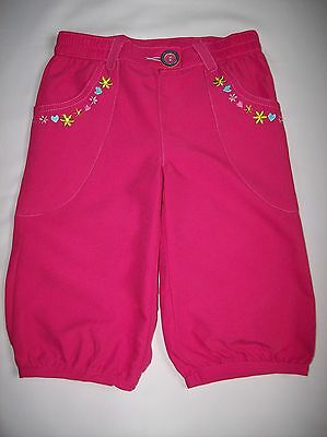 Bnwot Girls Chad Valley Pink Cropped Combat Trousers Age 18 - 24 Months Only