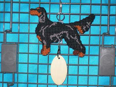 GORDON SETTER Dog crate tag or hang anywhere pet art decorative ornament sign