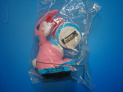 "Vintage 1997 Energizer Bunny Factory Sealed 7"" Plush Stuffed Animal Toy NIP NEW"