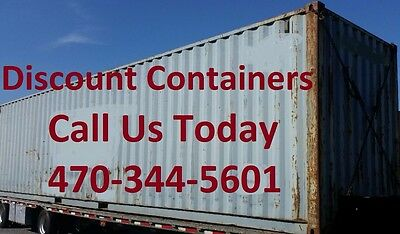 40ft Shipping Container Wind Weather Tight & Rodent Proof in Dallas Texas