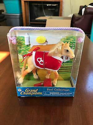 Grand Champions Foal Collection Jutland Pony Horse Toy Playset New In Box
