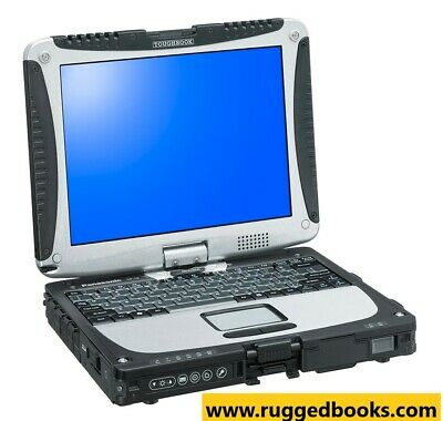 Rugged Laptop Panasonic Toughbook CF19 MK3 C2D @ 1.20GHz✅4GB✅320GB✅WIN 7✅Touch