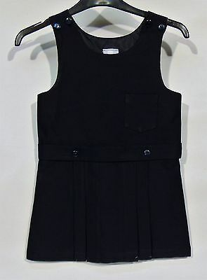 Kids Girls Schools Direct Uniform PINAFORE Navy Dress Pleated Age 9-10Years New