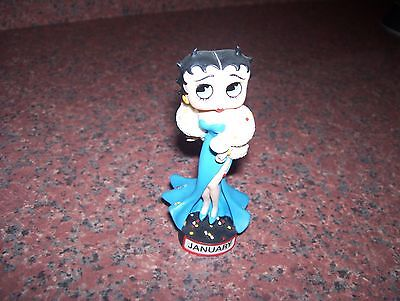 Danbury Mint Betty Boop Calendar Figurine January