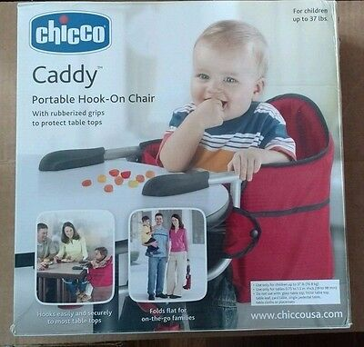 Chicco Caddy Hook On Chair - Red *****FREE SHIPPING*****