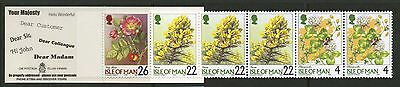 Isle of Man  1999   Scott # 800a   Mint Never Hinged Booklet