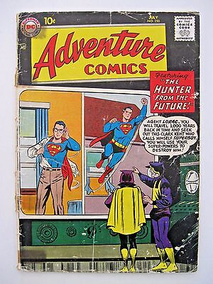 Adventure Comics #250 GD Condition. Jack Kirby and Bill Finger!