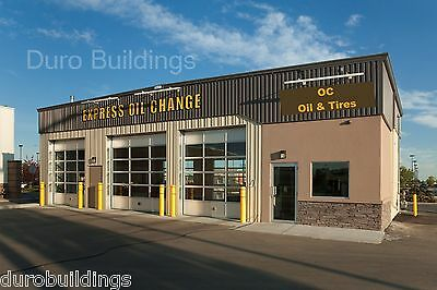 DuroBEAM Steel 30x80x15 Metal Building Garage Workshop Storage Structure DiRECT