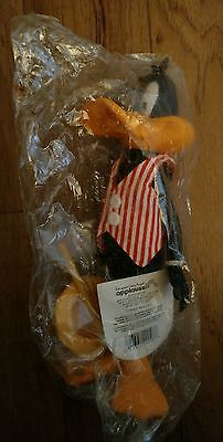 "NEW 1990 Applause 9"" Looney Tunes Collector Doll Figure Vaudeville Daffy Duck"