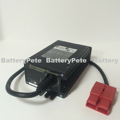 24 Volt Industrial Battery Charger With SB50 Red Connector DPI New