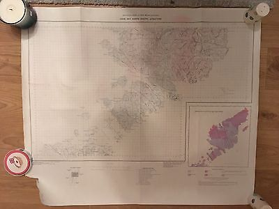 Geological Map of Lewis and Harris (South) Structure