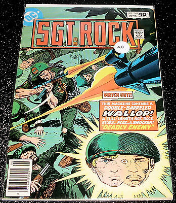 Sgt.Rock 341 (4.0) $3.99 One Time Shipping