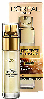 (56,63 EUR/ 100ml) LOREAL AGE PERFECT ZELL RENAISSANCE GOLD SERUM 30 ML