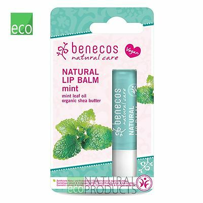 Benecos Natural Vegan Lip Balm Mint 4,8g