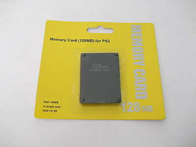 128MB MEMORY CARD PLAYSTATION 2 PS2 PS 2 128 MB !! BRAND NEW! Ship from Canada!!