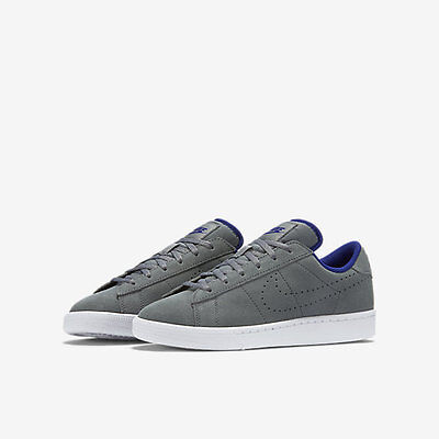New Boys Sneakers Nike Tennis Classic Gray Shoes Size 6 Youth