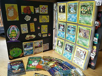 Pokemon TCG 100% Complete 2nd Gen Binder Neo sets NM Condition w/ 1st edition