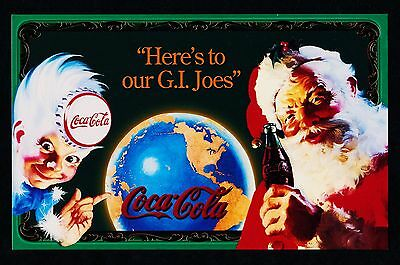 Coca Cola Santa (Series 6) Jumbo Card # 6 from Sign Of Good Taste Set - 1995 NEW