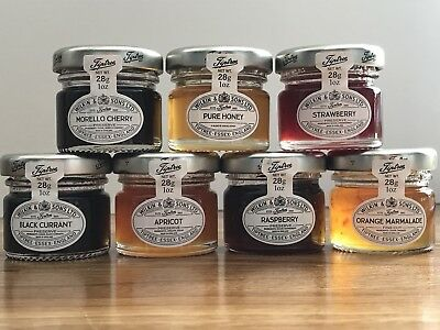 Wilkin & Sons Tiptree 21 x Mixed Mini Jams & Honey 3 Of Each, Mother's Day