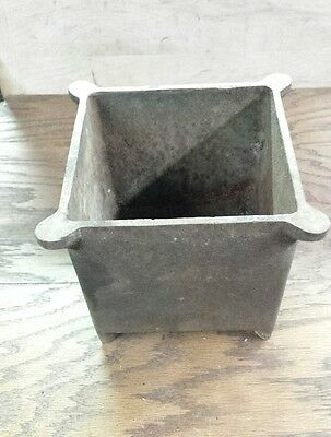 Cast Iron Box Or Pot Or ????