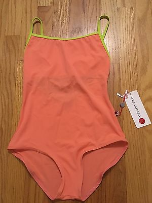 NWT Yumiko Heather Leotard Size Large Techni Bird, Beat Trim