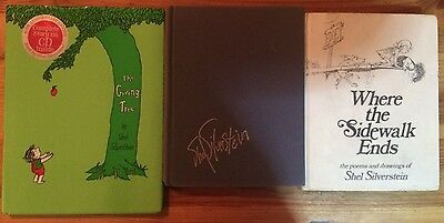 Lot of 3 hardcover books by Shel Silverstein