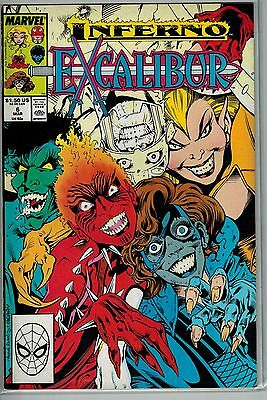 Excalibur - 006 - Marvel - March 1989