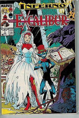 Excalibur - 007 - Marvel - April 1989