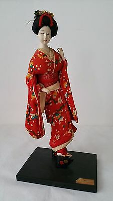 Vintage Japanese Doll Japanese Dancer Maiko in Kyoto by Nishi & Co